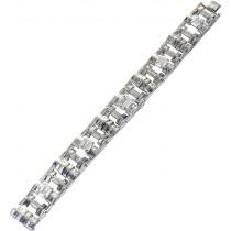Cartier London Diamantarmband Weißgold 750 mit ca. 29 Carat Diamanten UNIKAT 2