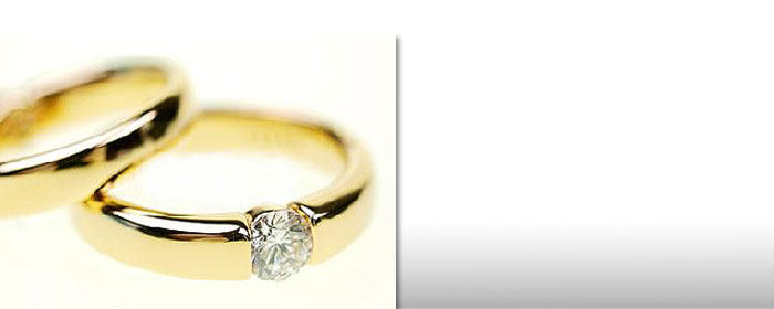 Diamantring Gold