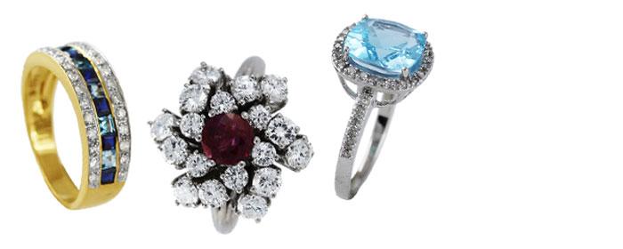 Modeschmuck ringe  Modeschmuck Ringe günstig kaufen - Schmuck Online Shop - Ch ...