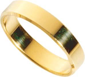 CH.ABRAMOWICZ Trauring Gelbgold 18k 750/-, Breite 5,0mm, Stärke 1,7mm hochzeit hochzeit hochzeit