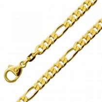 Figarokette Gelbgold 585 massiv
