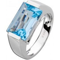 Ring Weißgold 585 Blautopas_077004_01
