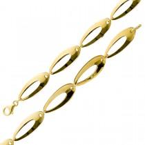 Armband Goldarmband Gelbgold  Weissgold 375