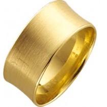 StuttgartTrauring Gelbgold feinmattiert leicht gewölbt für optimalen Tragecomfort 8kt 333/-, Breite 10,0mm, Stärke 1,3mm. Der Ring auf dem Bild ist mattiert, standardmässig ist der Ring poliert, wenn eine Mattirung gewünscht ist, bitte angeben.Vergleichen