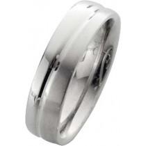 Trauring in Weißgold 18k 750/-, Breite 6,0mm, Stärke 2,1mm der Ring ist hochglanz poliert, die Gravur der Trauringe sowie das Etui erhalten Sie kostenlos und bei diesen einfarbigen Trauringen - Eheringen ist auch der kostenlose Auffrischungsservice beinha