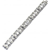 Cartier London Diamantarmband Weißgold 750 mit ca. 29 Carat Diamanten UNIKAT 2