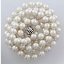 Perlenkette - Perlencollier Sterling Silber 835 japanische Akoyazuchtperlen (Standardartikel)