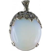 Mondsteinanhänger - Silberanhänger Sterling Silber 925/-_01