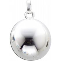 Anhänger Engel Rufer Klangkugel Sterling Silber 925 poliert_247851100