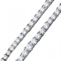 Tennisarmband Collier Sterling Silber 925 Zirkonia