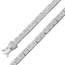 Armband Sterling Silber 925 Diamanten