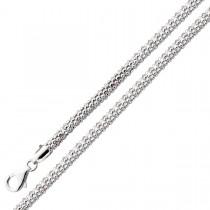 Popcornkette - Silberkette Sterling Silber 925/-_01