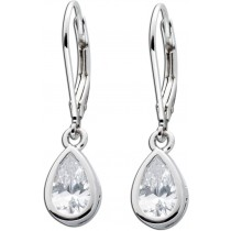 Ohrringe Ohrhänger Sterling Silber 925 Zirkonia