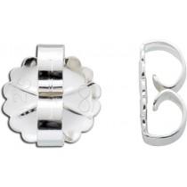 Ohrringe - Ohrmuttern Sterling Silber 925 Ø 9mm