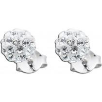 Ohrringe - Kristallohrstecker 36 Kristallen