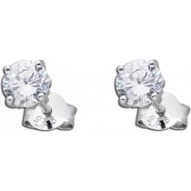 Ohrstecker Sterling Silber 925 Zirkonia