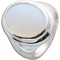 Ring Sterling Silber 925 synthetischer Mondstein