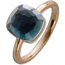 Ring in Silber  - Sterling Silber rosévergoldet Perlmutt Zirkonia_01