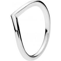 Pandora Ring 196314 Sterling Silber 925 Glänzender Wunsch