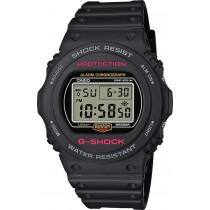 CASIO Uhr DW-5750E-1ER G-SHOCK Resin Digital rot schwarz