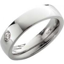 Trauring in Palladium 585/-, Breite 6,0 mm,Stärke 2,8 mm, der Ring ist hochglanz poliert, die Gravur der Trauringe sowie das Etui erhalten Sie kostenlos und bei diesen einfarbigen Trauringen - Eheringen ist auch der kostenlose Auffrischungsservice beinhal