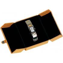 Doubledooretui für Uhren ca. 10 x 8,5 cm groß. Erhältlich bei Abramowicz, dem Juwelier Ihres Vertrauens seit 1949, aus Stuttgart, Rotebühlstr. 155