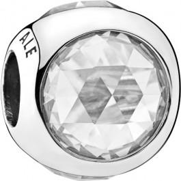 PANDORA Charms 792095CZ Strahlendes Tröpfchen Silber 925