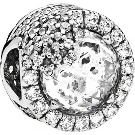 PANDORA Charms 796358CZ Glanzvolle Schneeflocke Sterling Silber 925