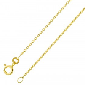 Ankerkette Goldkette 333 Gelbgold massiv