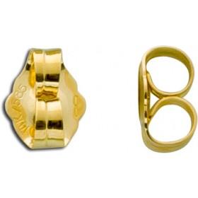 Ohrringe - Ohrmutternpaar Gelbgold 333 hochglanzpoliert