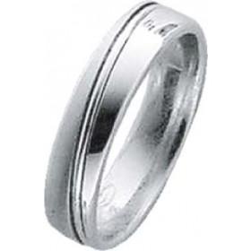 Trauring in Weißgold 750/-, Breite 5,0mm, Stärke 1,7mm, der Ring ist matt poliert, die Gravur der Trauringe sowie das Etui erhalten Sie kostenlos und bei diesen einfarbigen Trauringen - Eheringen ist auch der kostenlose Auffrischungsservice beinhaltet. Se