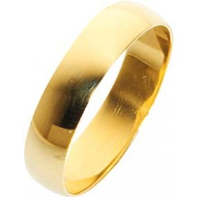 Trauring Ehering Gelbgold 585/- 5x1,3mm