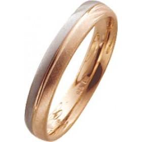 Trauring in Weißgold 750/- / Rotgold 750/-, Breite 4,0mm, Stärke 1,6mm. Die Gravur der Trauringe sowie das Etui erhalten Sie kostenlos dazu und bei diesen einfarbigen Trauringen - Eheringen ist auch der kostenlose Auffrischungsservice beinhaltet. Selbstve