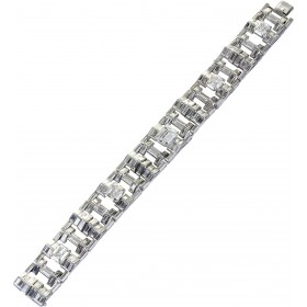 Cartier London Diamantarmband Weißgold 750 mit ca. 29 Carat Diamanten UNIKAT