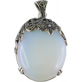 Mondsteinanhänger - Silberanhänger Sterling Silber 925/-