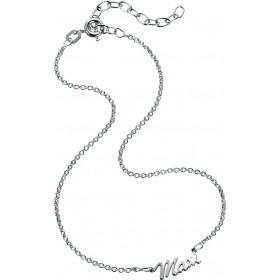Namensfusßkette in Silber Sterlingsilber 925/-