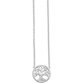 Collier 925er Sterling Silber rhodiniert Lebensbaum-Anhänger