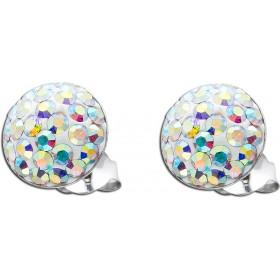 Ohrringe - Märchenhafte Kristallohrstecker Silber 925 aurore boreal