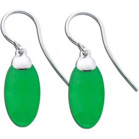 Ohrringe - Ohrhänger Sterling Silber 925 Jade