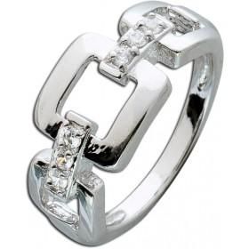 Silberring Sterling Silber 925 Zirkonia Kette