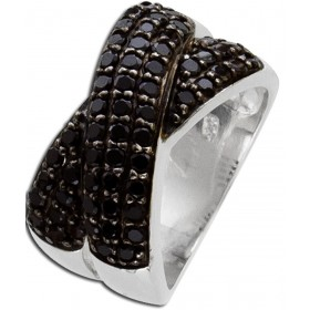 Spinell Ring - Sterling Silber 925/-