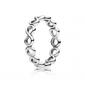 PANDORA Ringe 190994 Unendlichkeit Infinity Symbol Silber Sterlingsilber 925/-