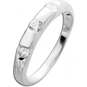 Ring Silber 925 3 Zirkonia