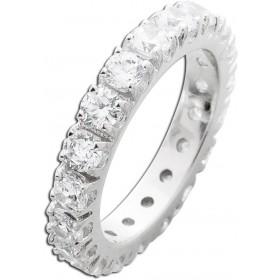Ring Silber 925 Memoire Ring Zirkonia