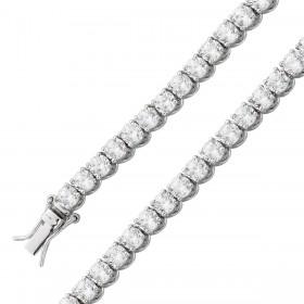 Tennisarmband Silber 925 Zirkonia