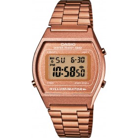 Casio Unisex B640WC-5AEF Armbanduhr Digital Edelstahl  roseevergoldet 39 x 35 x 9 mm
