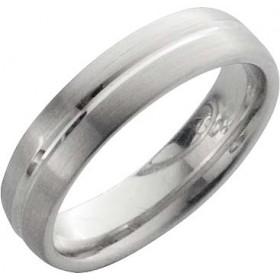 Trauring in Weißgold 14k 585/-, Breite 6,0mm, Stärke 2,1mm der Ring ist matt poliert, die Gravur der Trauringe sowie das Etui erhalten Sie kostenlos und bei diesen einfarbigen Trauringen - Eheringen ist auch der kostenlose Auffrischungsservice beinhaltet.