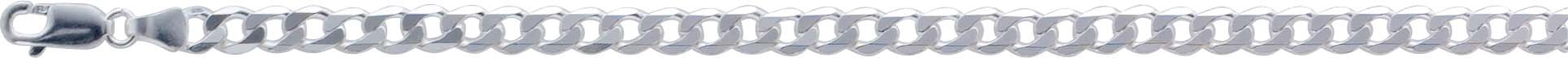 UNO A ERRE Panzerkette Panzerarmband Herrenkette Herrenarmband Silberkette 925 Halskette 925 5mm 40 256477140
