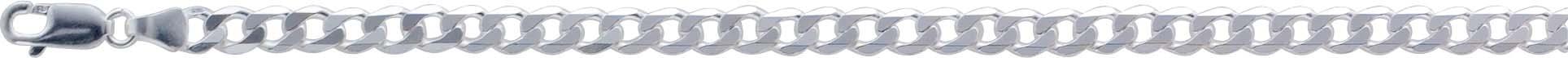 UNO A ERRE Panzerkette Panzerarmband Herrenkette Herrenarmband Silberkette 925 Halskette 925 5mm 60 256477160